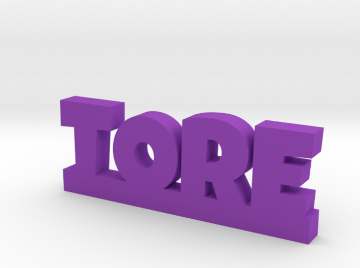 TORE Lucky 3d printed