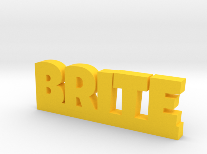 BRITE Lucky 3d printed