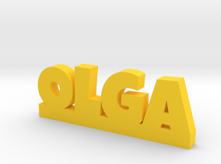 OLGA Lucky 3d printed