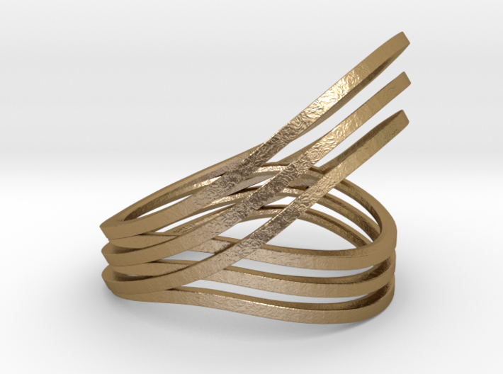 Convolution ring 3d printed