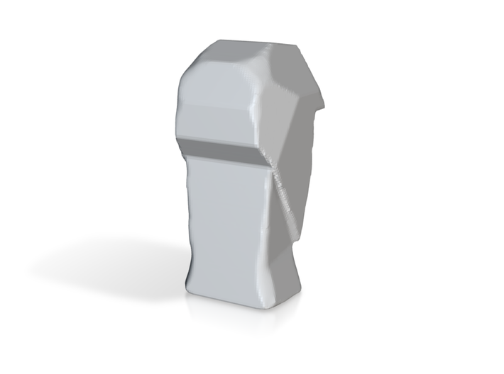 Geometric Head Sculpture 3d printed