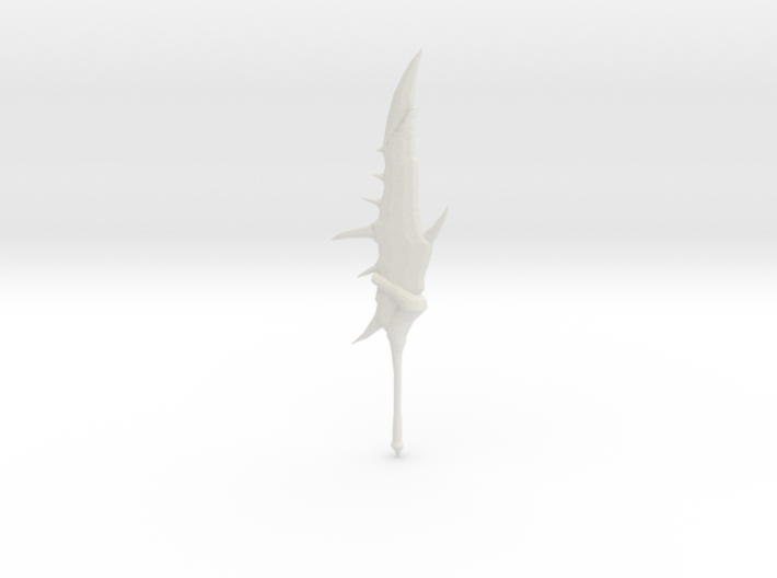 Monster Hunter: Rathalos Greatsword 3d printed Large White Strong and Flexible