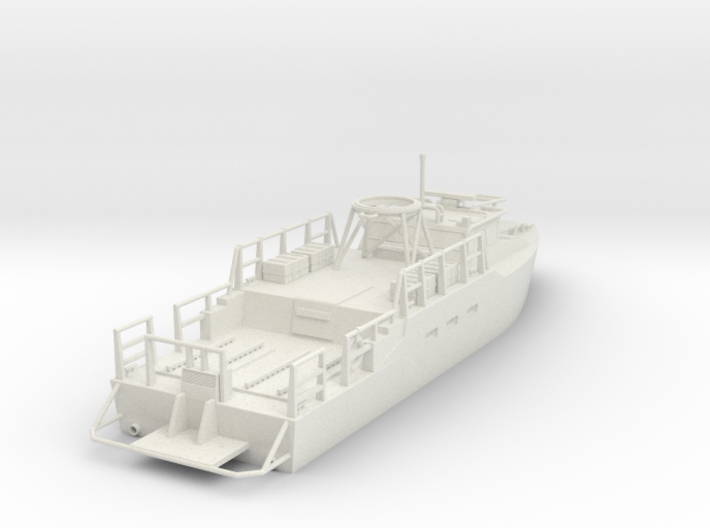 CB-90H / Riverine Control Boat ~HO Scale (1/72) V1 3d printed