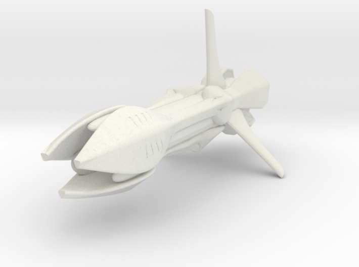 Species 8472 Bioship (Star Trek Voyager), 1/3.2K 3d printed