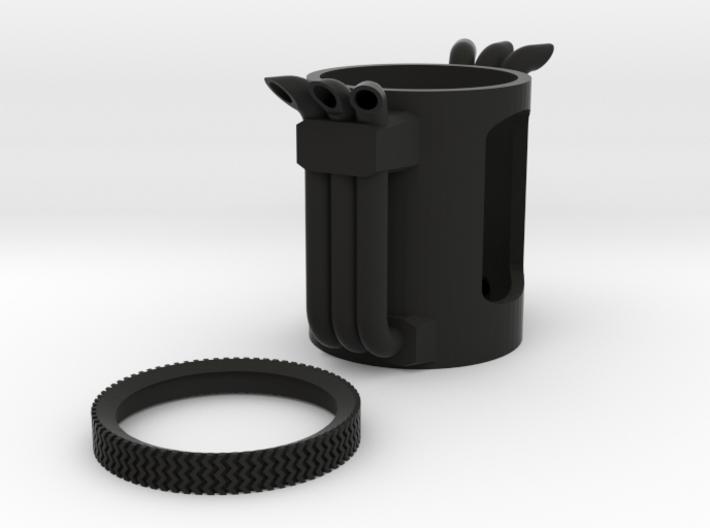 BFT Smoke Stacks 3d printed