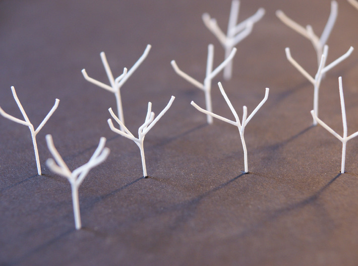 Architects Tree 2 scale 1-200-1-250 x60  3d printed