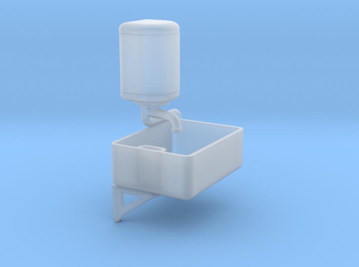 EP720 Belfast Sink & Water Heater 3d printed