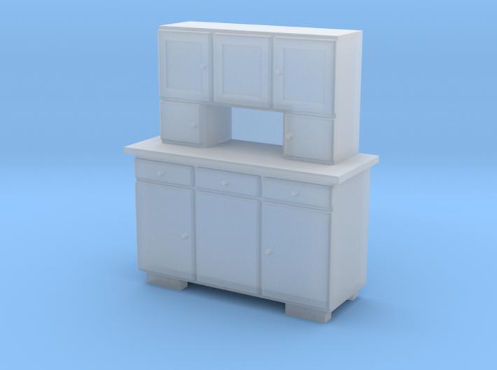 TT Cupboard 3 Doors - 1:120 3d printed