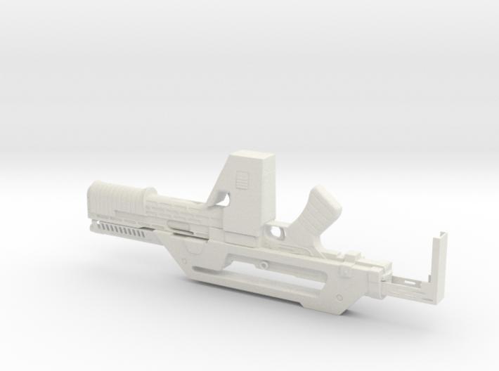 M41a Pulse Rifle 1.3 Scale 23cm 3d printed