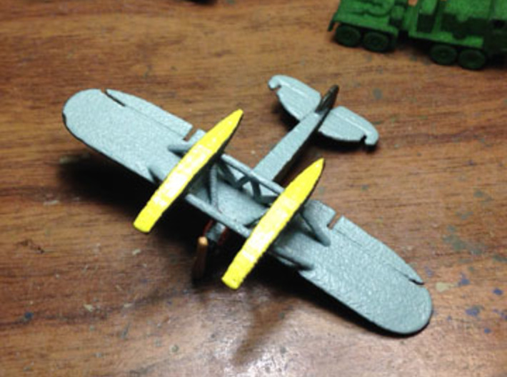 Heinkel HE 5  (S5A) 3d printed Swedish Air Force S5A by Fred Oliver