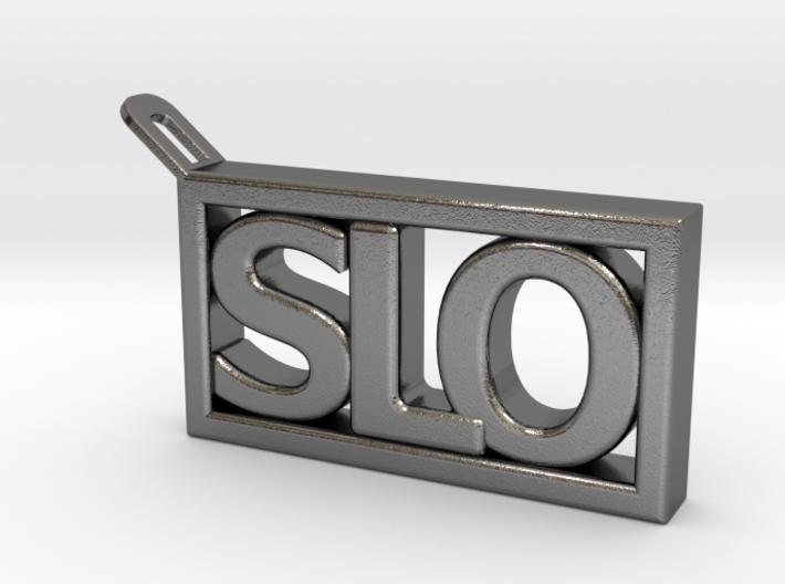 SLO Key Chain 3d printed