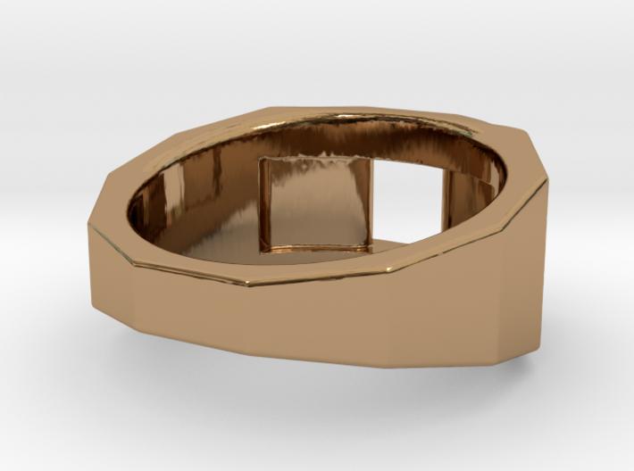 Engineers Fingers Ring S B 3d printed