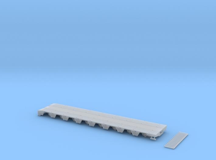 MPA 13 Tieflader ähnlich Goldhofer Mpa 8 achs für 3d printed