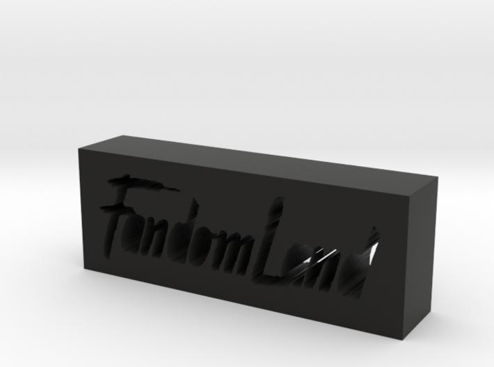 FandomLand Logo 3d printed