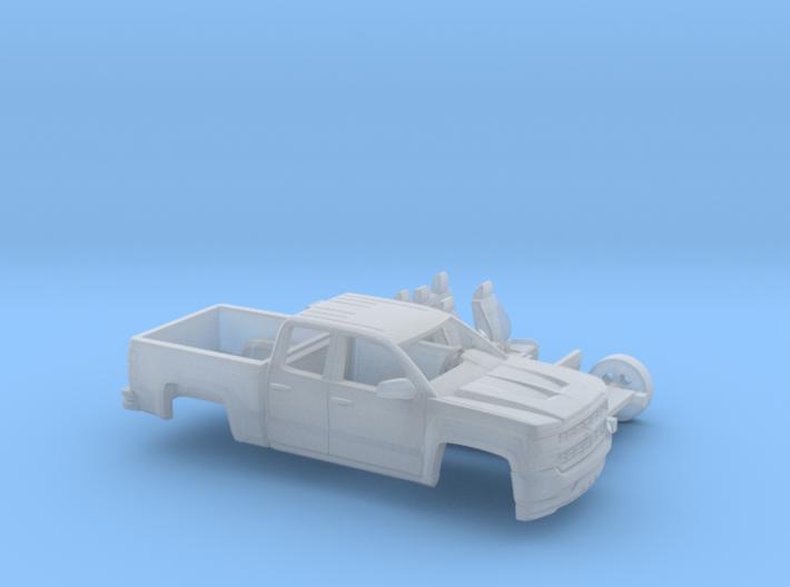 1/160 2016/17 Chevrolet Silverado EXT Cab Short Be 3d printed