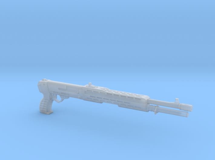 SPAS 12 1:4 scale shotgun without pump 3d printed