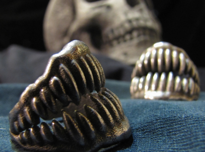 Jaw Ring Size10 3d printed