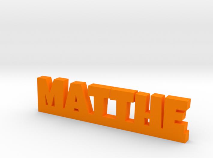 MATTHE Lucky 3d printed