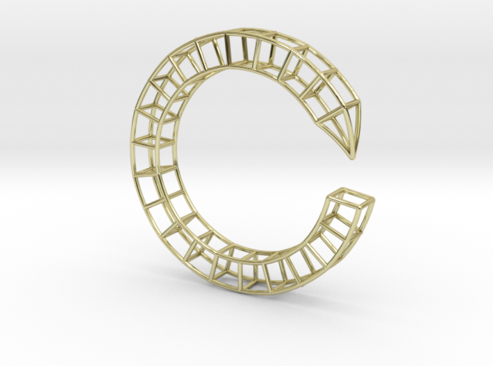 Pen Bracelet Medium Size 3d printed