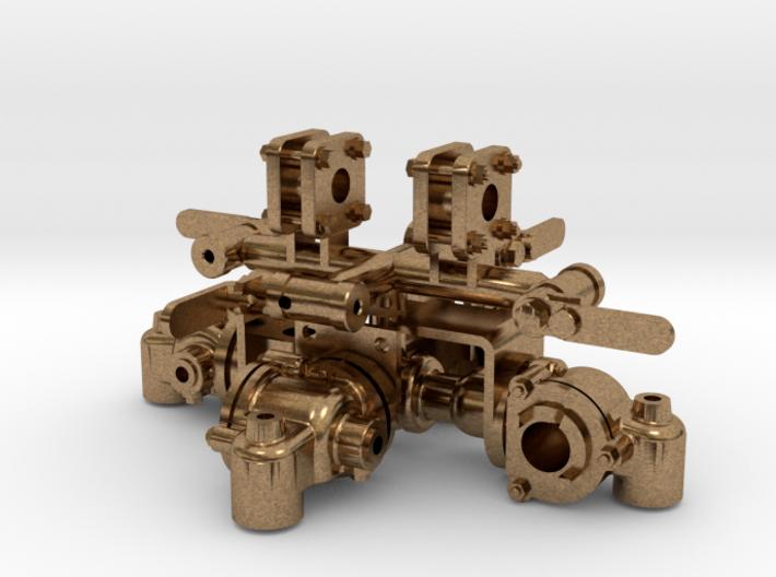 UIC Hahn Set für die 99222 3d printed