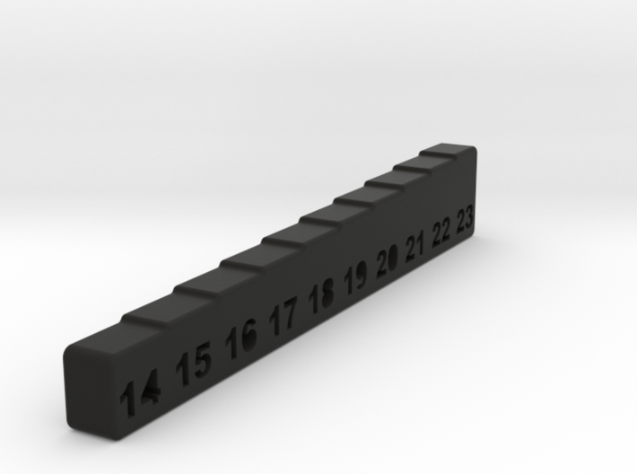 Color Ride Height Gauge for RC Cars 3d printed