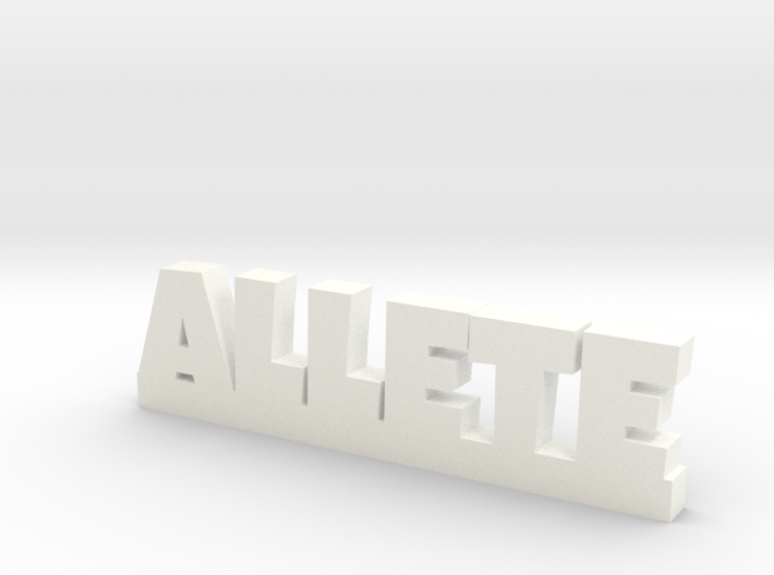 ALLETE Lucky 3d printed