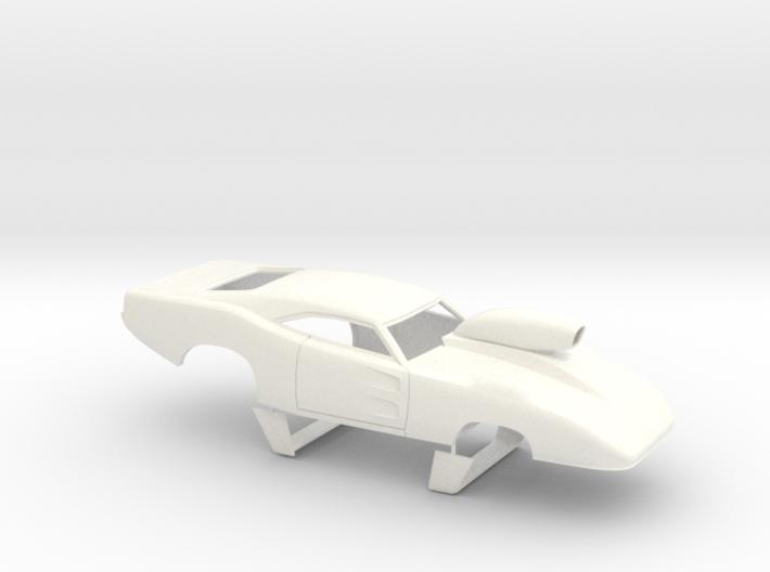 1/32 69 Daytona Pro Mod W Vents W Scoop 3d printed
