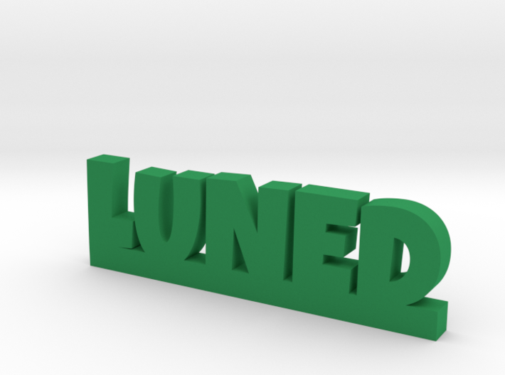LUNED Lucky 3d printed