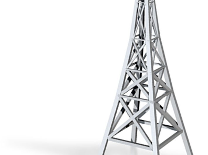 Power Tower 3d printed Tower power lines