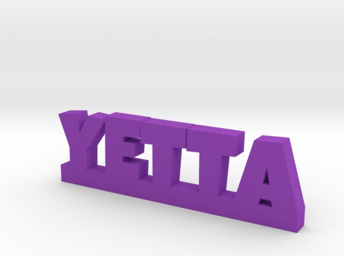 YETTA Lucky 3d printed