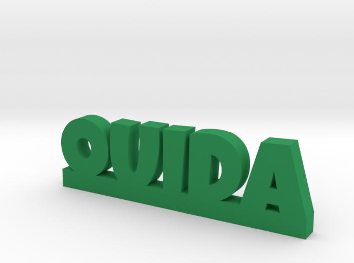 OUIDA Lucky 3d printed