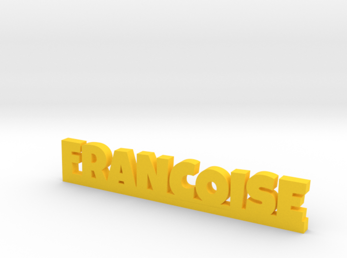 FRANCOISE Lucky 3d printed