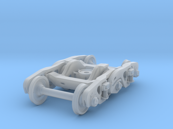CCRX 40010 3-Axle Truck Assy 1/35th 3d printed