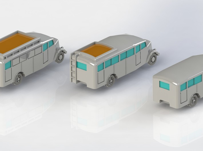 Opel Blitz Bus 1/285 6mm 3d printed Add a caption...