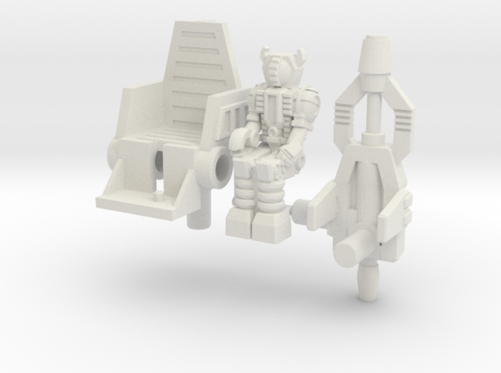 Waruder/Titan Kit for Skrapnel/Shrapnel 3d printed