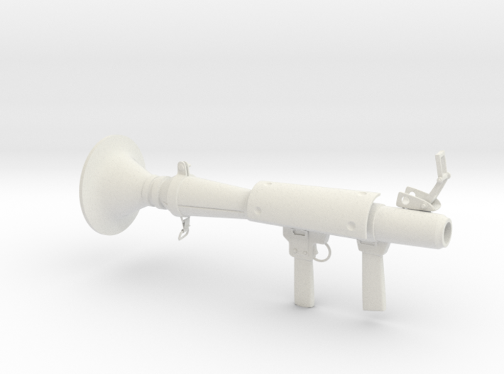 Rocket launcher 3d printed