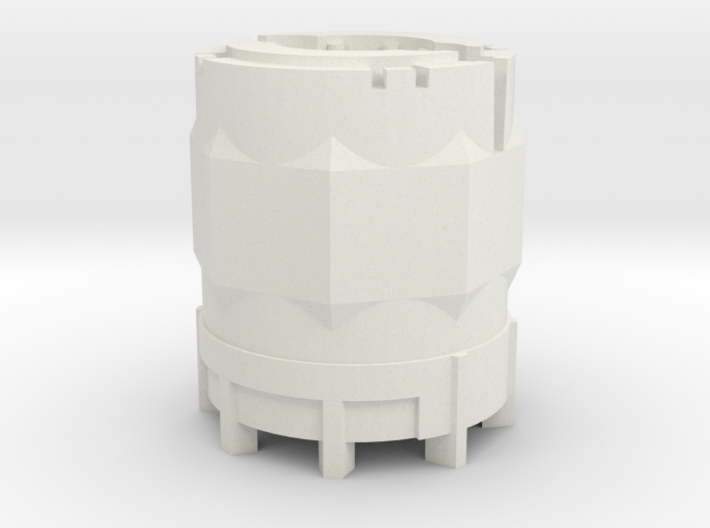 1/64 Scale 110 Gallon Chemical Shuttle 3d printed