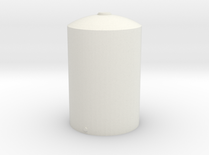 1/64 Scale 5000 Gallon Vertical Tank 3d printed