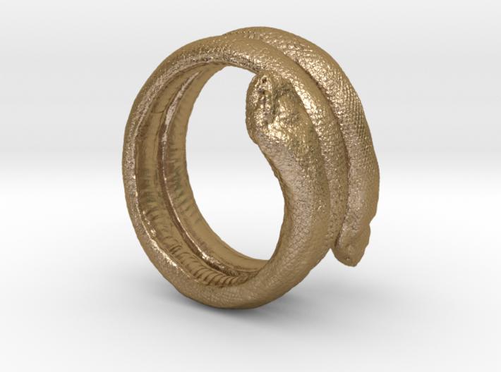 Snake Bracelet 3d printed