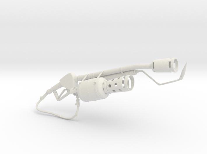 Flame Thrower 3d printed