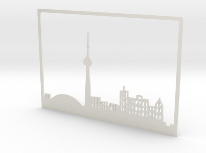 Toronto Skyline - 4 X 5.75 (S) 3d printed