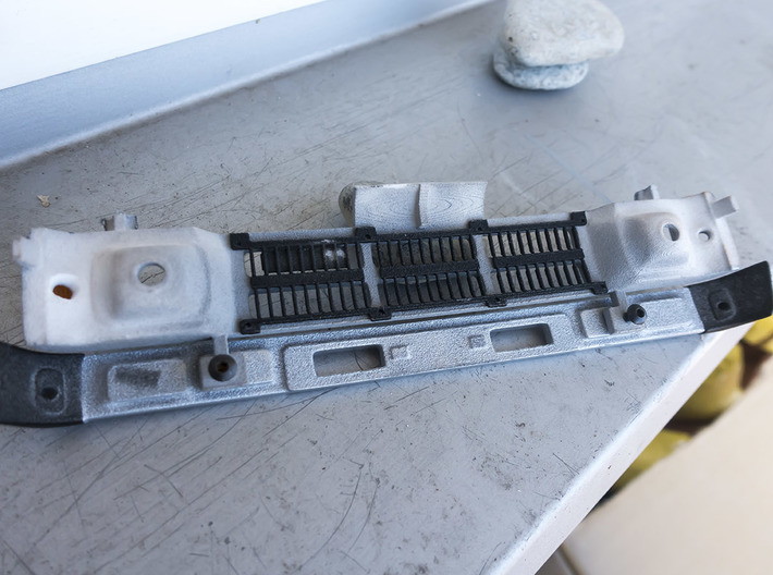 RCN002 Grill radiator for Pro-Line Toyota SR5  3d printed