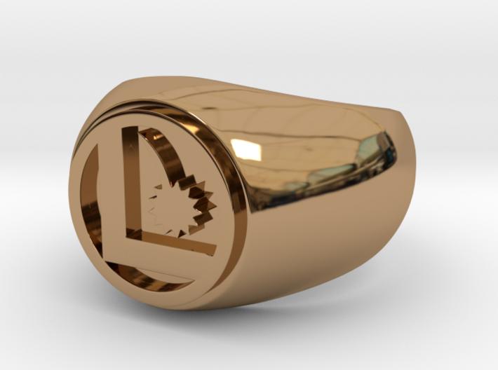 Legion Flight Ring - Size 14.5 3d printed
