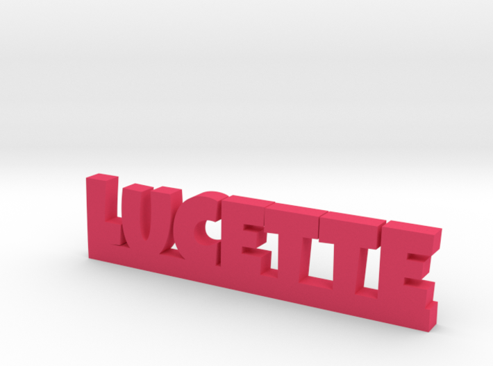 LUCETTE Lucky 3d printed