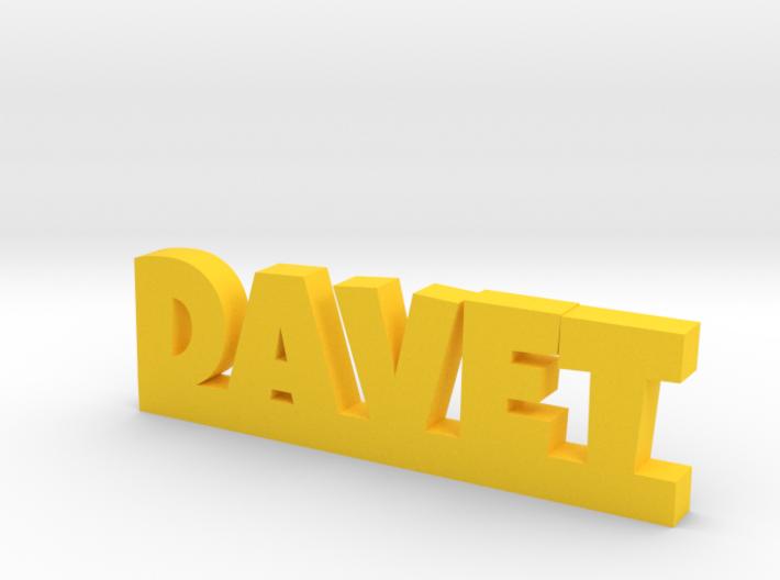 DAVET Lucky 3d printed