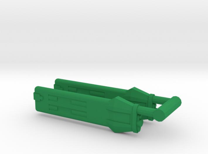 KWA Type A Klingon Warp Nacelle 3d printed