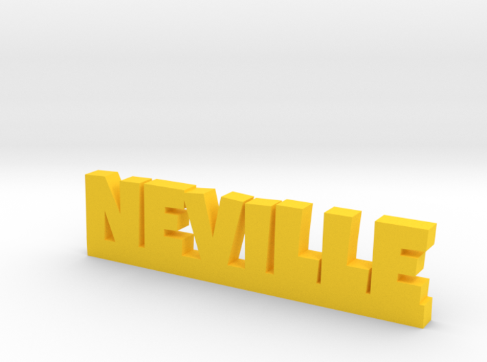 NEVILLE Lucky 3d printed