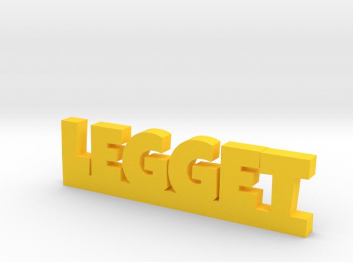 LEGGET Lucky 3d printed