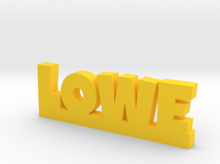 LOWE Lucky 3d printed