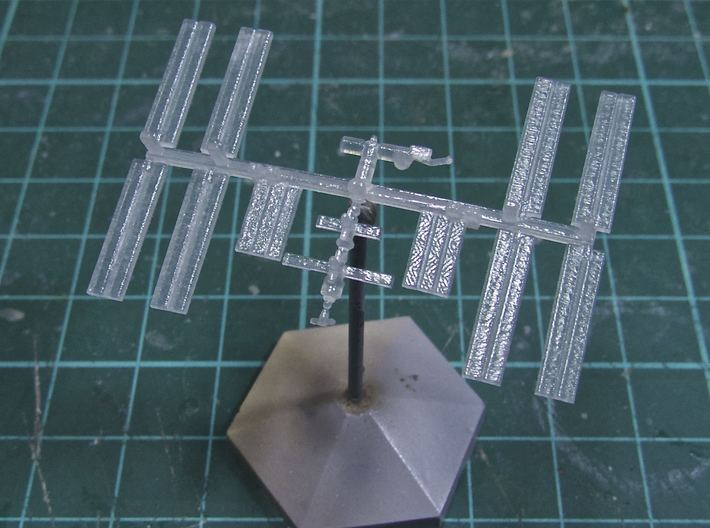 1/1000 NASA International Space Station ISS (FUD) 3d printed